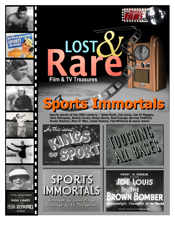 Sports Immortals Cover
